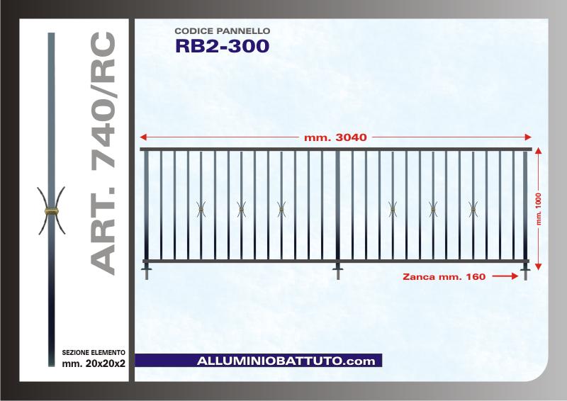 alluminio battuto pannelli ringhiere balconi parapetti