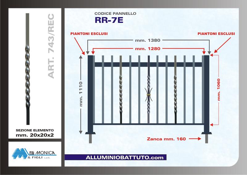 ringhiere per balconi ringhiere : Alluminio Battuto - Pannelli Ringhiere Balconi, Parapetti, Muretti e ...